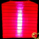 "10""Square Nylon Lanterns-RED"