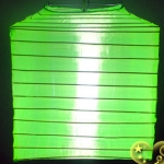 "10""Square Nylon Lanterns-Lemon Green"