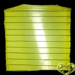 "10""Square Nylon Lanterns-Yellow"