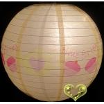 "12"" Time for Tea paper lantern"