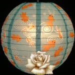 "14"" Goldfish paper lantern wholesale (150 of case)"