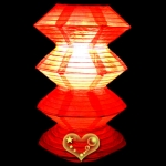 Red Gear Paper Lanterns