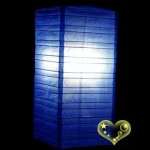 Dark Blue Cuboid paper lanterns