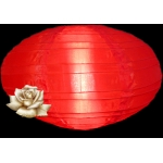 "16"" Saturn Nylon Lanterns-Red"