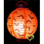 "8"" 3LED Bat Paper Battery Lantern"