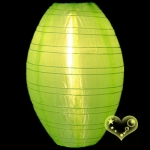 "10"" Kawaii Nylon Lanterns-Apple Green"