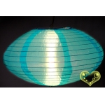 "14"" Saturn Nylon Lanterns-Turquoise"
