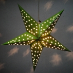 "24""Chartreuse Star Paper Lantern"