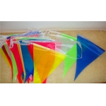 Mixed Colors Silk Bunting