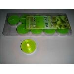 Apple Green Tea Lights Candles(pack of 10)