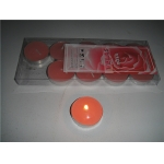 Rose Pink Tea Lights Candles(pack of 10)