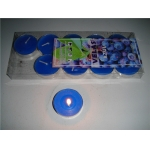 Azul Blue Tea Lights Candles(pack of 10)
