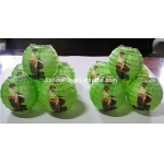3.5 Inch Japanese GMH Geisha Paper Lantern-Green(10 OF PACK)