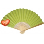 "9"" Lemon Paper Hand Fans(200 of case)"