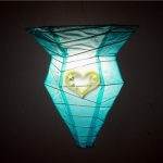 TurquoisePolygon paper Lanterns