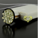 $0.8 for 12 Led battery operated white -non fixed bulbs(720)