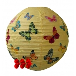 "16""Butterflies In Flight Paper Lantern(150 of case)"