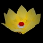 Yellow Paper Lotus Floating Water Lantern