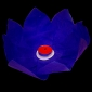 Purple Paper Lotus Floating Water Lantern