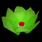 Green Paper Lotus Floating Water Lantern