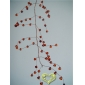 "42"" Coffe Crystal stone cluster wired Garland"
