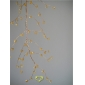 "42"" Yellow Crystal stone cluster wired Garland"