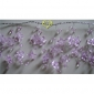 "42"" Lavender Crystal star cluster wired Garland"