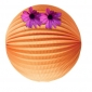 "20"" Peach Orange Accordion Paper Lanterns"
