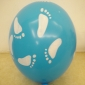 "12"" Footprint Led Flash Light Up Balloon (50 x 5 balloon)"