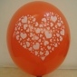 "12"" Heart Led Flash Light Up Balloon (50 x 5 balloon)"