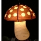 Polka Dot Brown Mushroom Paper Lanterns