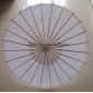 "Wholesale 32"" White Paper Parasol(100 of box)"