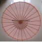 "Wholesale 32"" Pink Paper Parasol (100 of box)"
