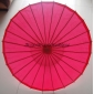 "Wholesale 32"" Fuchsia Paper Parasol (100 of box)"