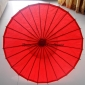 "Wholesale 32"" Red Paper Parasol (100 of box)"