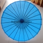 "Wholesale 32"" Turquoise Paper Parasol (100 of Box)"