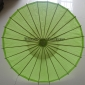 "Wholesale 32"" Light Lime Paper Parasol (100 of box)"