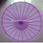 "Wholesale 32"" Lilac Paper Parasol (100 of box)"