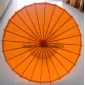 "Wholesale 32"" Orange Paper Parasol (100 of box)"