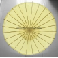 "Wholesale 32"" Yellow Paper Parasol (100 of box)"