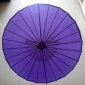 "Wholesale 32"" Purple Paper Parasol (100 of box)"