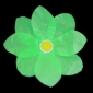 Light Lime Paper Lotus Floating Water Lantern