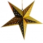 "24""Gold optical maser Star Lantern"
