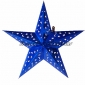 "24"" Blue optical maser Star Lantern"