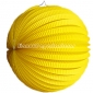 "8"" Yellow Accordion Paper Lanterns"