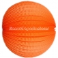 "20"" Orange Accordion Paper Lanterns"