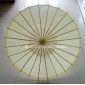 "32"" Light Yellow Paper Parasol"