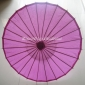 "Wholesale 32"" Violet Paper Parasol (100 of box)"