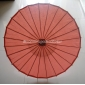 "Wholesale 32"" Brown Paper Parasol (100 of box)"
