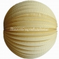 "12"" Light Yellow Accordion Paper Lanterns"
